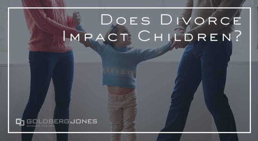 impact on kids during and after divorce