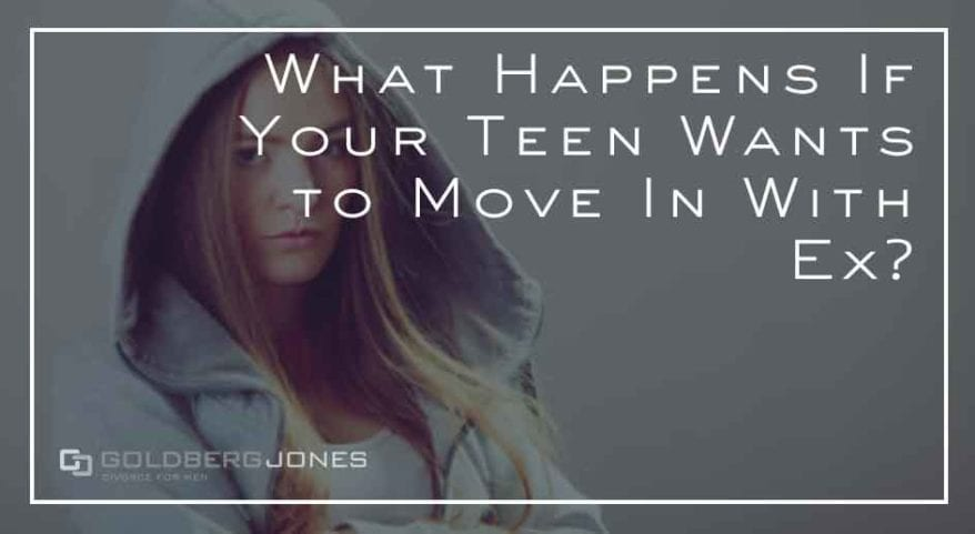 teenager moves in with other parent