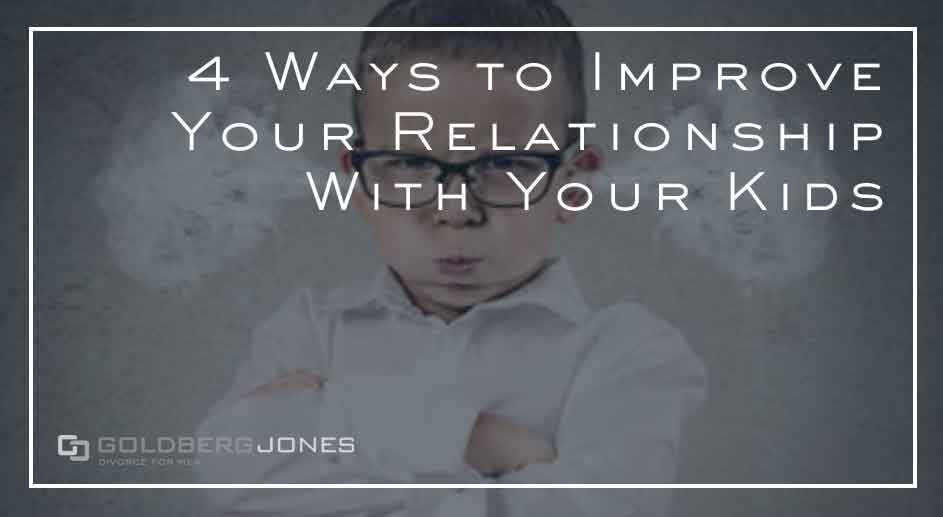 4 ways to help your relationship with children