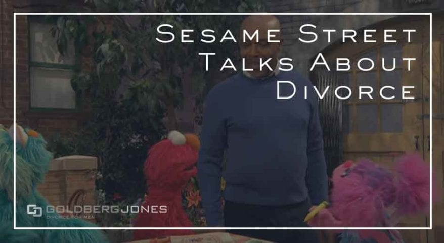 Sesame Street talks divorce