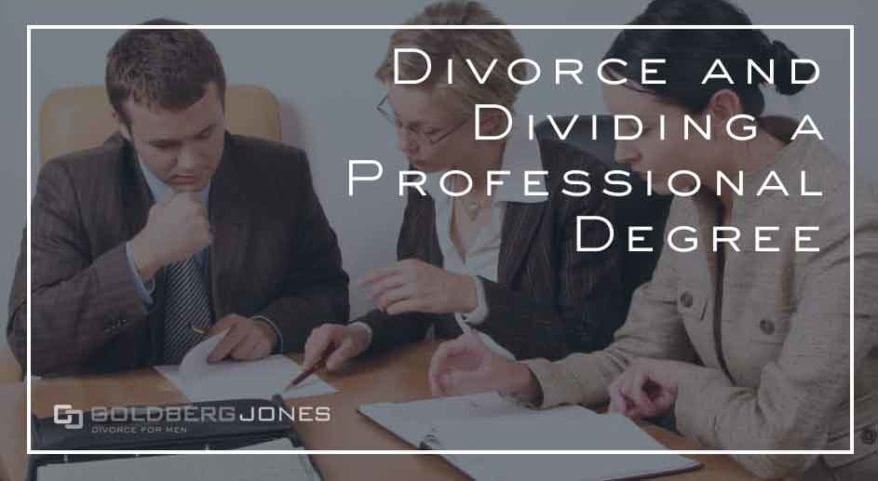 profession degrees and divorce