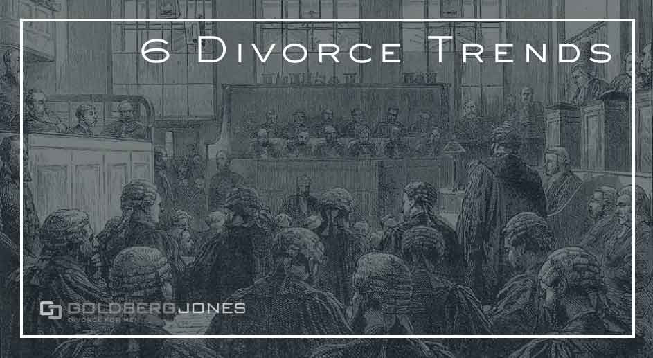 trends over time in divorce