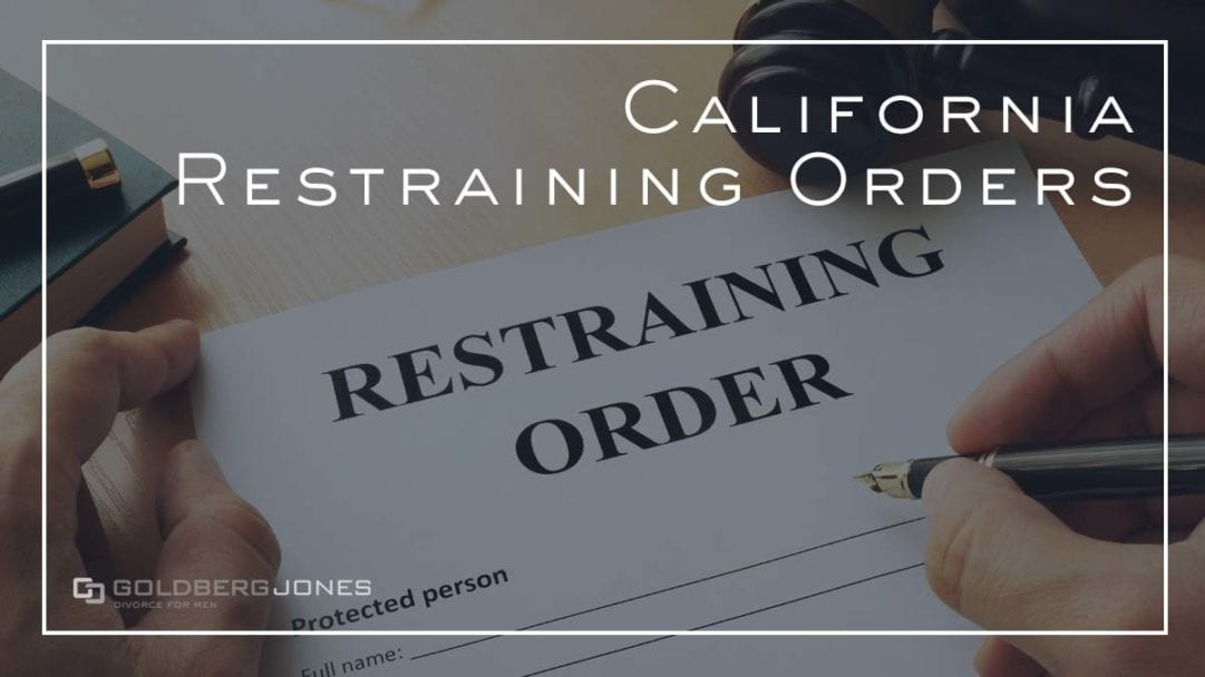 how do restraining orders work in san diego