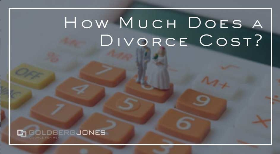 cost of divorce in california