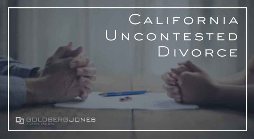 san diego uncontested divorce
