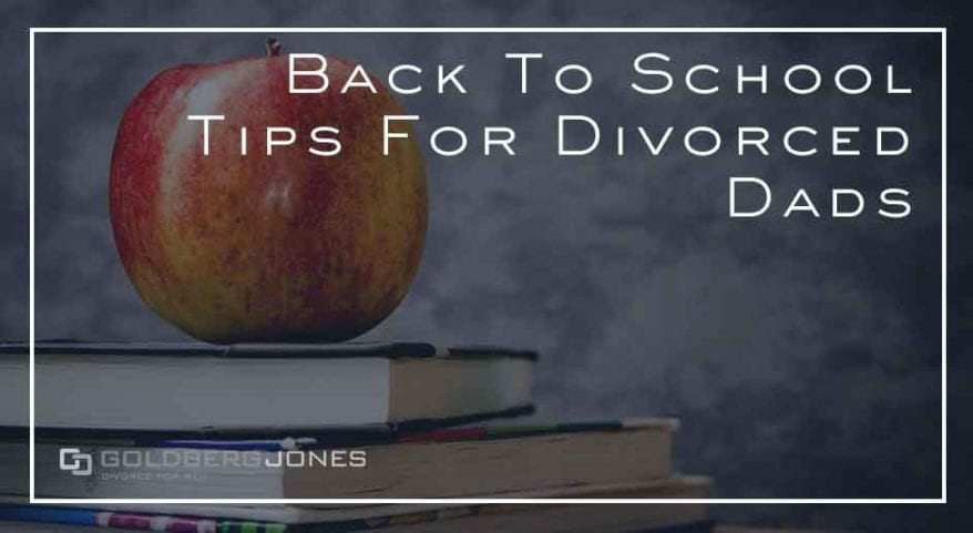 tips for dad for back to school