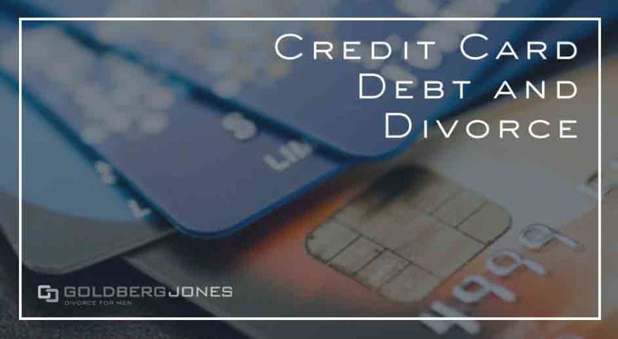 dividing debt in divorce in california