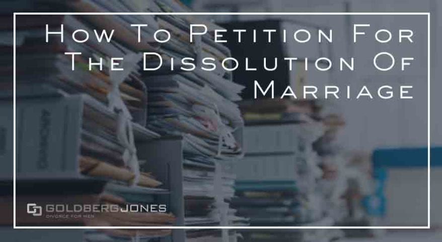 how to petition to for divorce