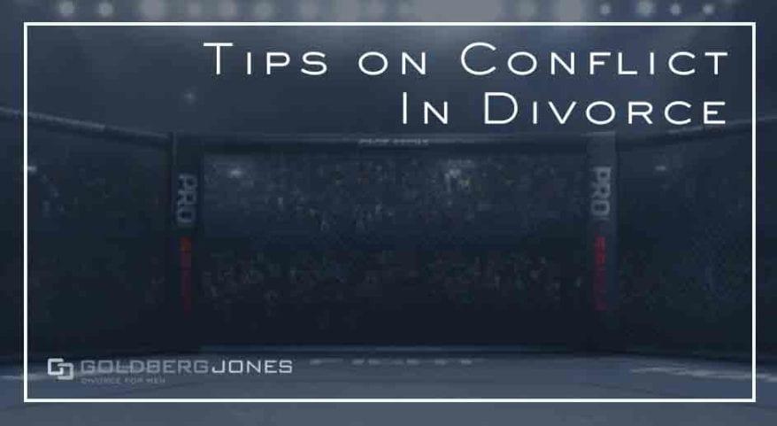 how to handle arguments in divorce