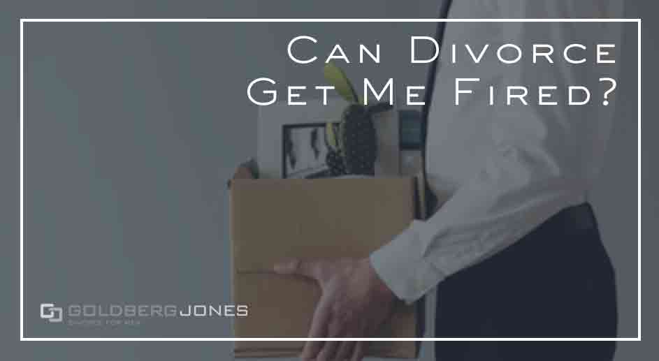 if you get divorced can it affect your job