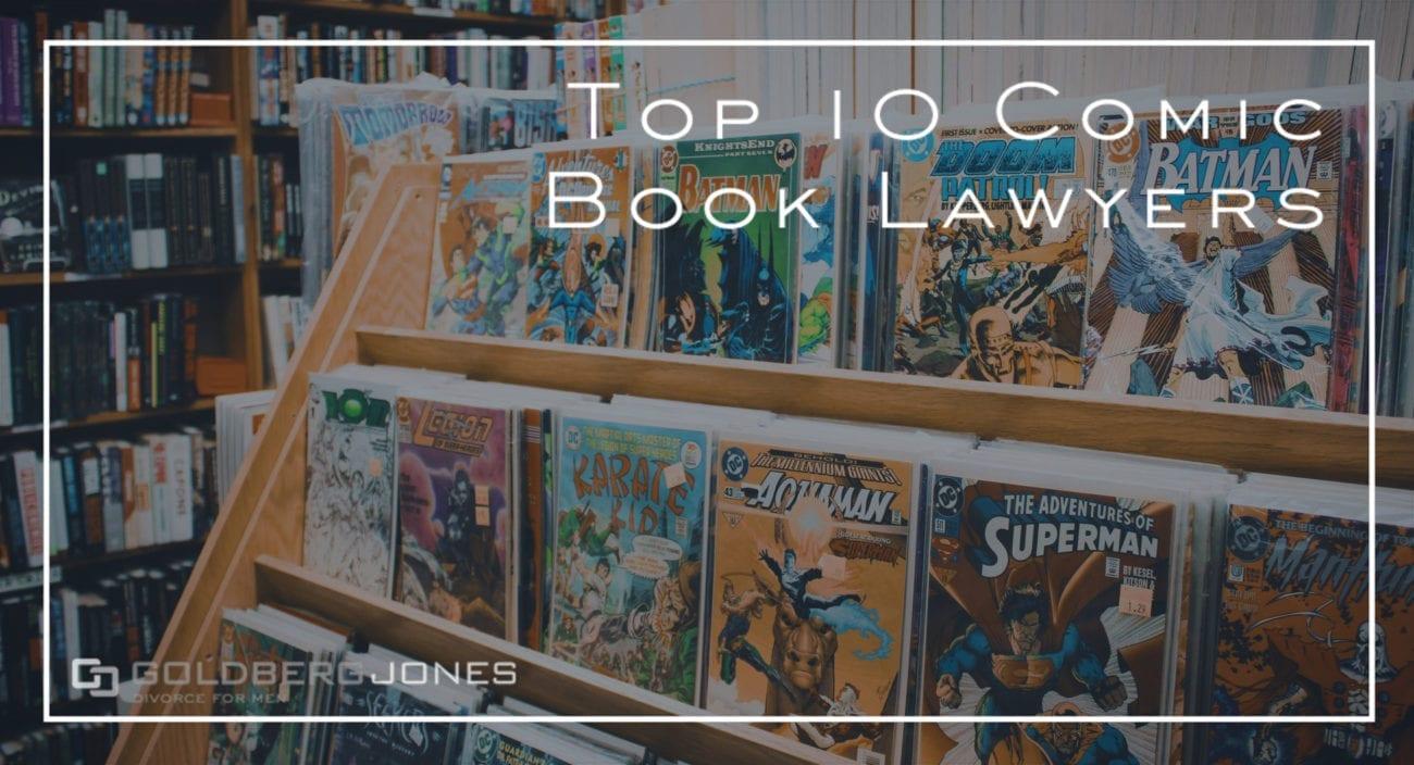 lawyers in comics