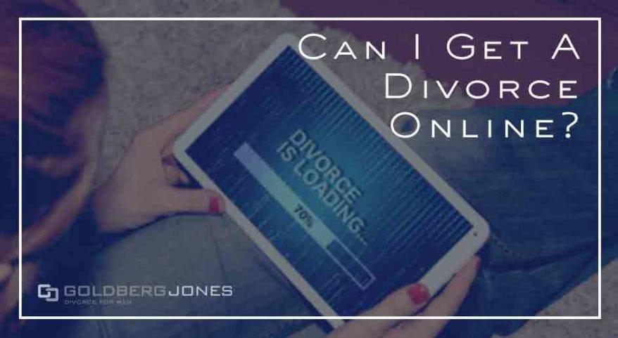 is online divorce possible
