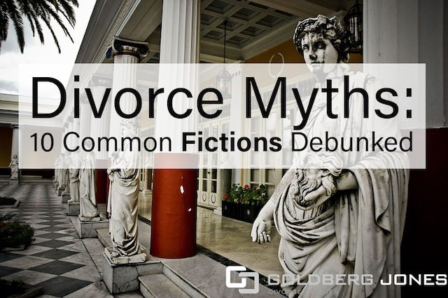 divorce myths