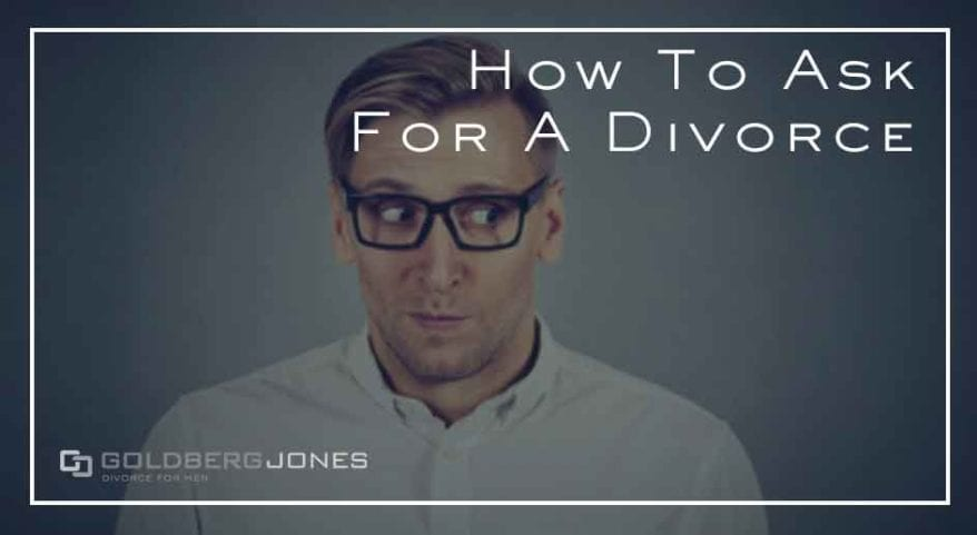 steps to talk about divorce