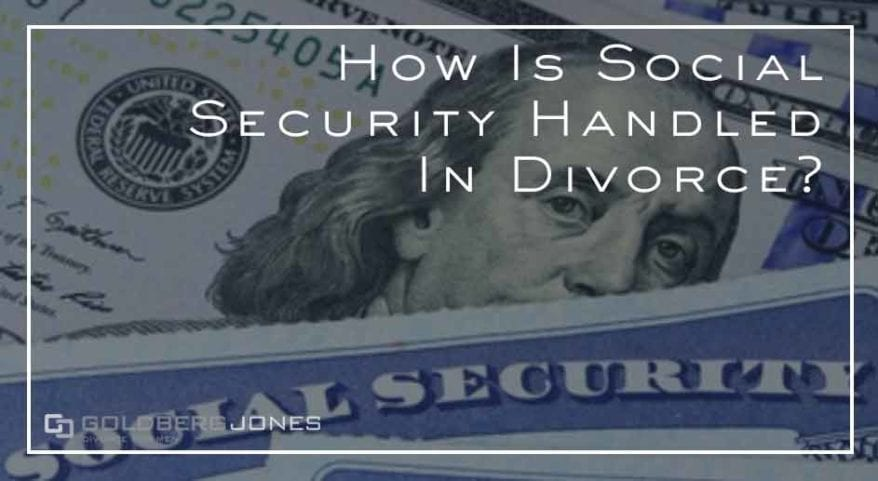 how does social security work property division