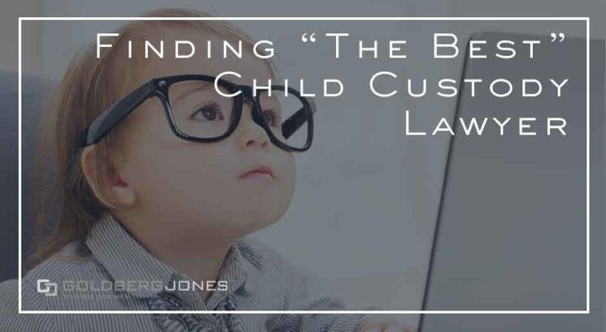 hire child custody attorney
