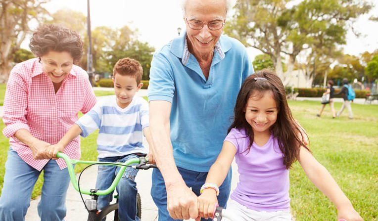 Grandparents' Rights - playing with grandchildren