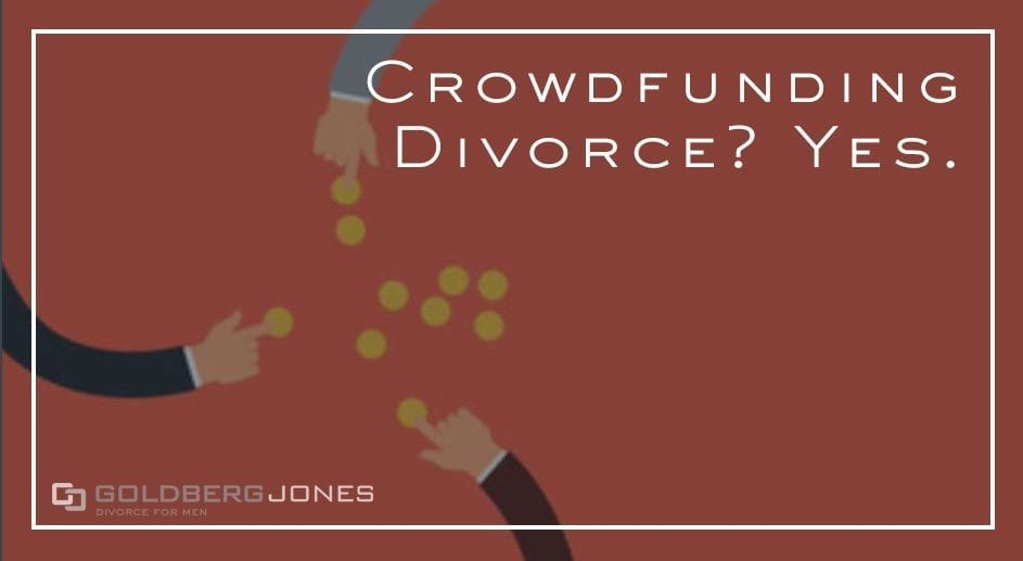 can you crowdfund your divorce cost fees