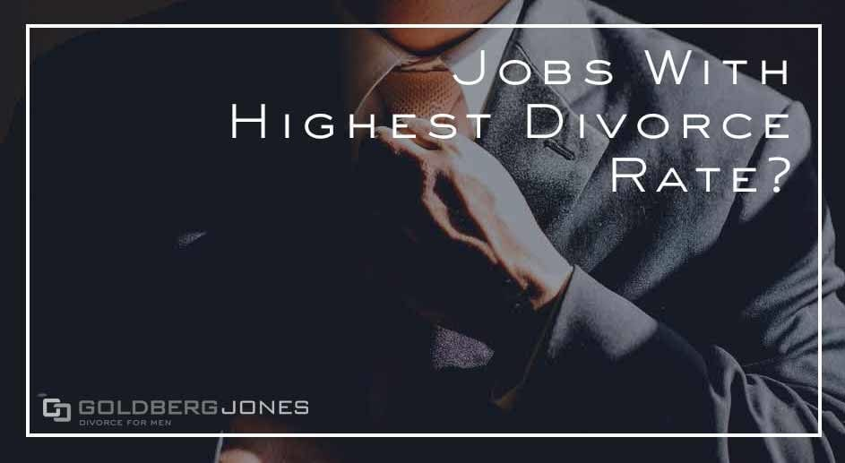 do some jobs have higher divorce rate than others?