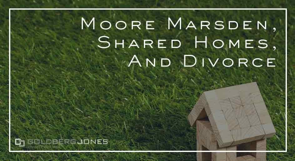 how are homes split in divorce