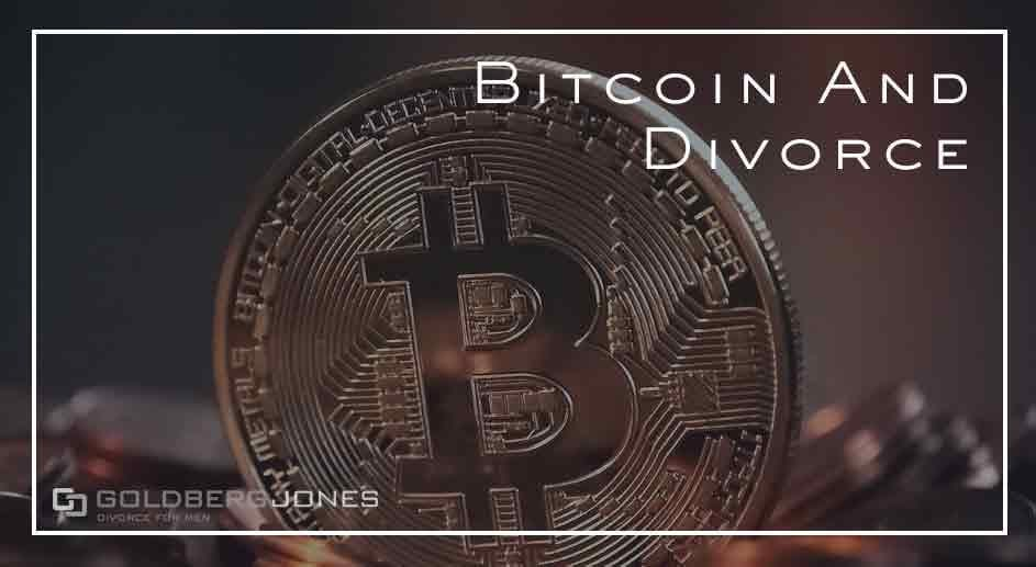 how is bitcoin handled in divorce