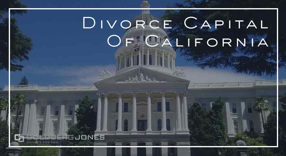what city has the most divorces in california