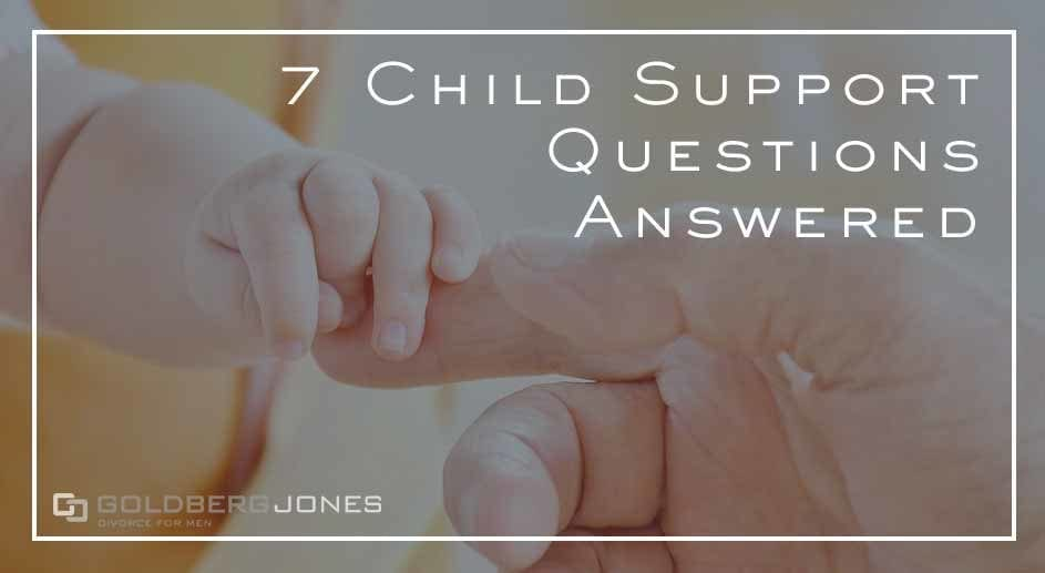 common questions about child support in california