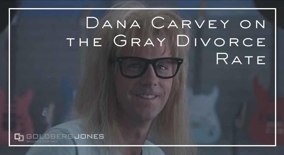 gray divorce from Dana Carvey Netflix Special