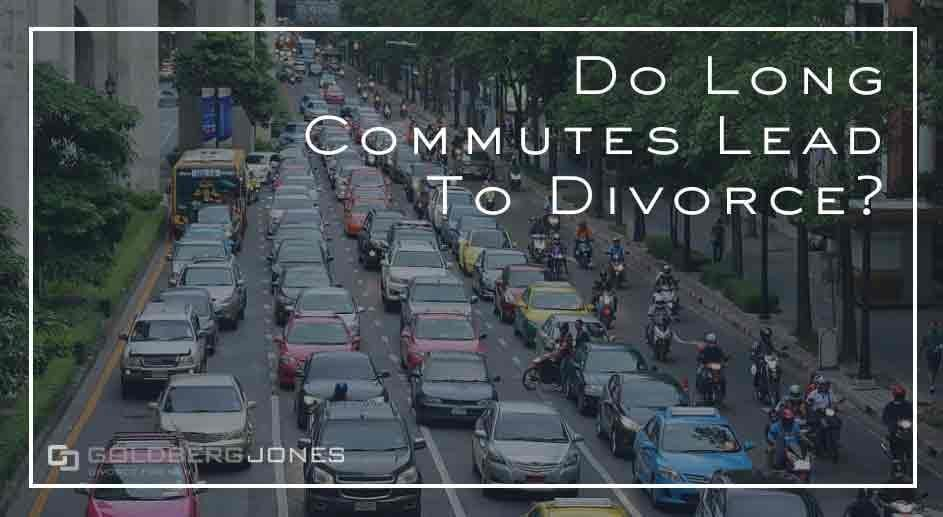increase chance of divorce when you stay drive too much