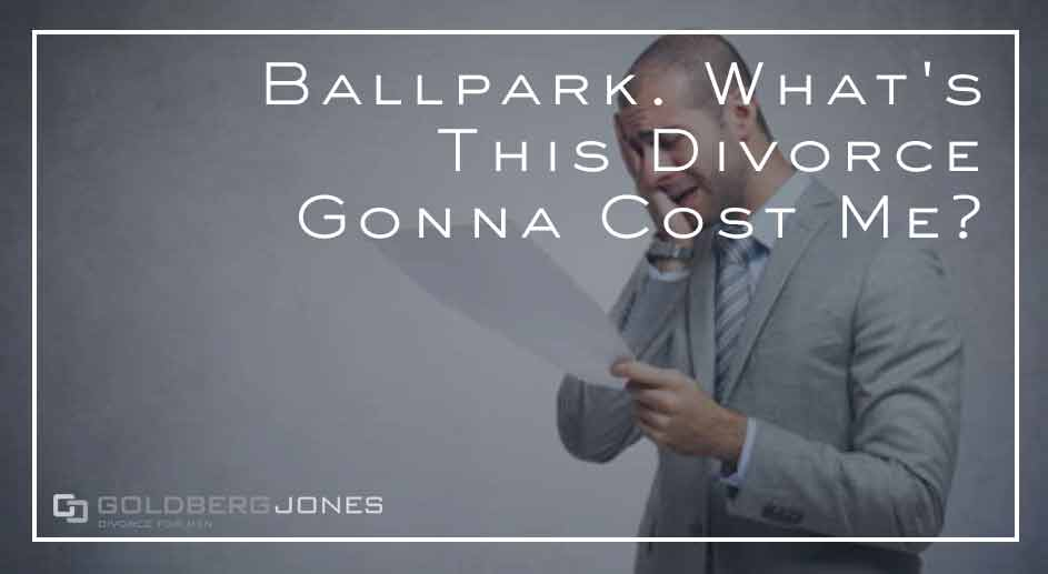 what does divorce cost