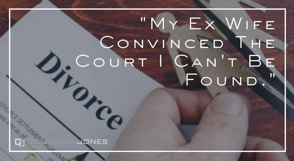 getting defaulted in divorce