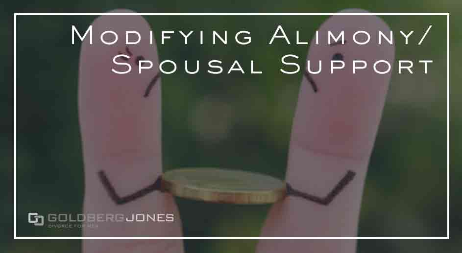can you alter spousal support payments