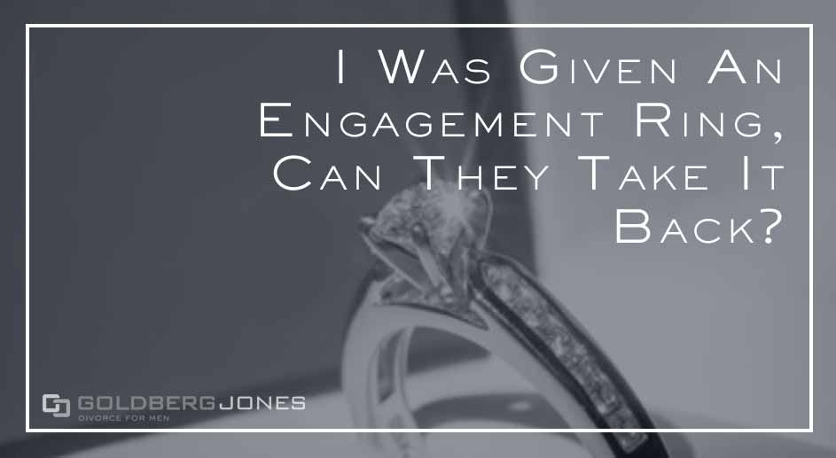 who gets to keep the engagement ring