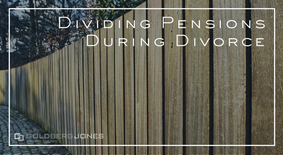 how are pensions divided in family law
