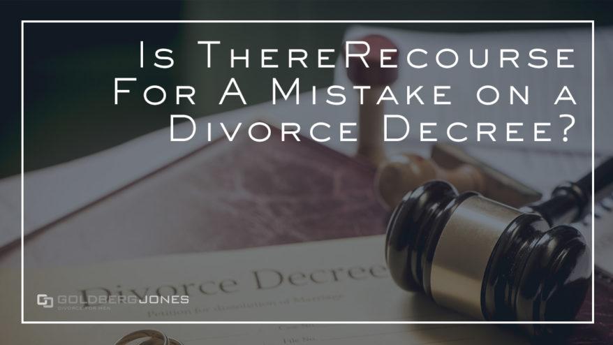 can you alter a divorce decree
