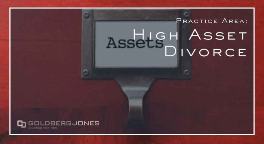 what's included in high asset divorce