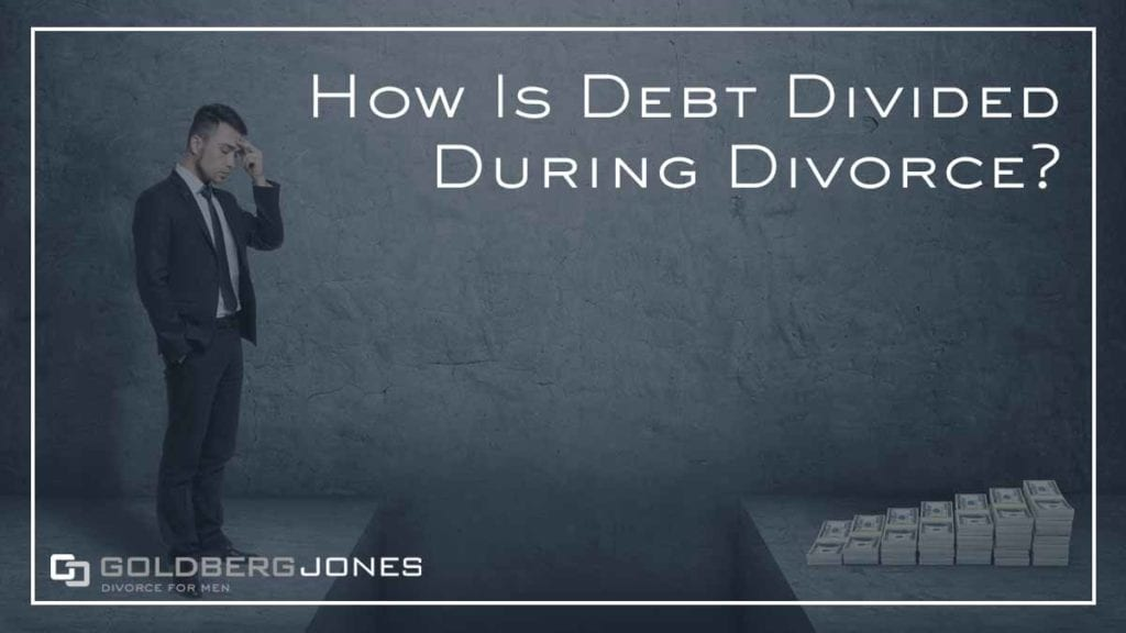 how is debt divided