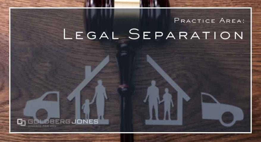 how does legal separation work in california