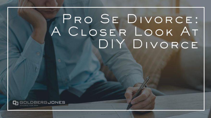 diy divorce in california