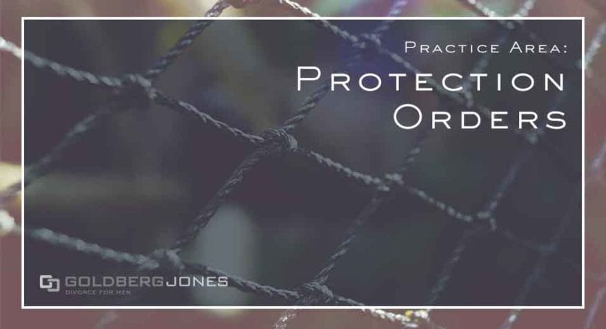 protection orders used in family law