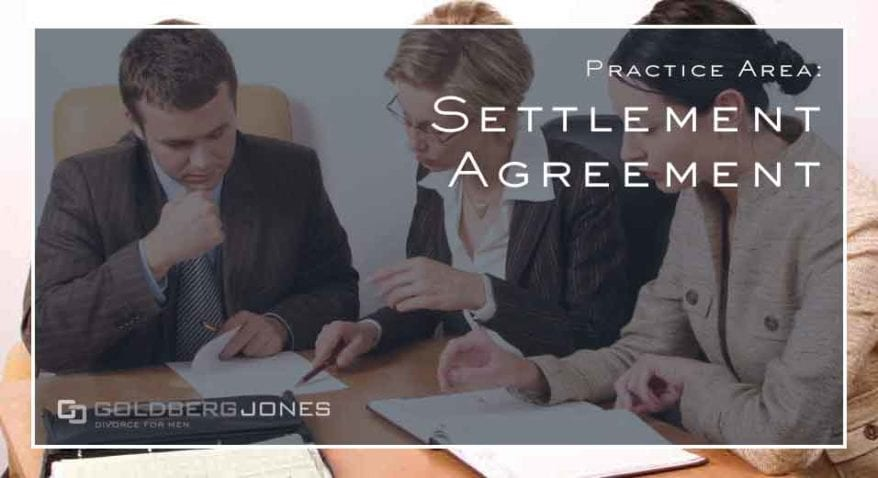 family law settlement agreements
