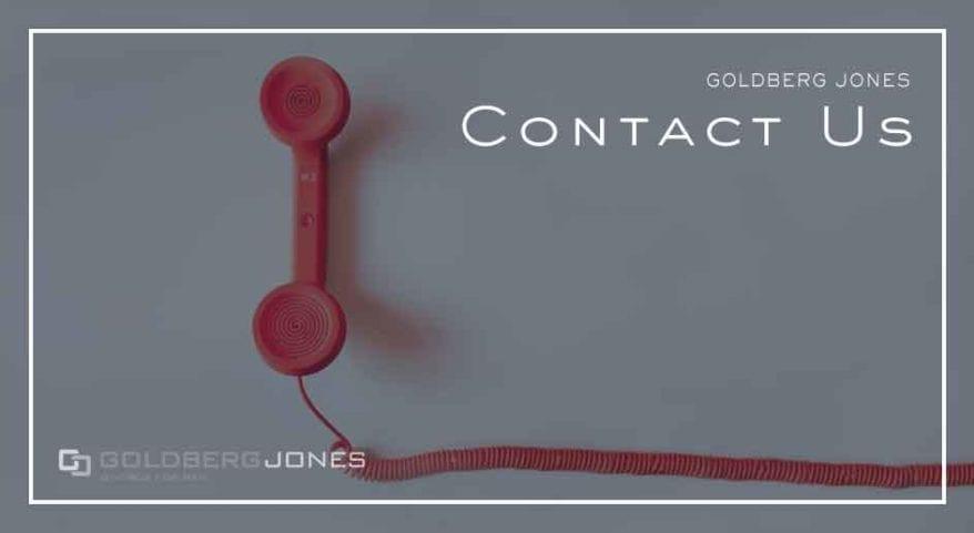 contact goldberg jones