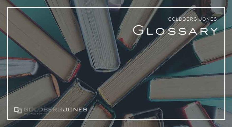 goldberg jones glossary