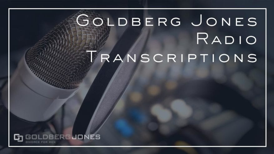 Goldberg Jones Radio Transcriptions