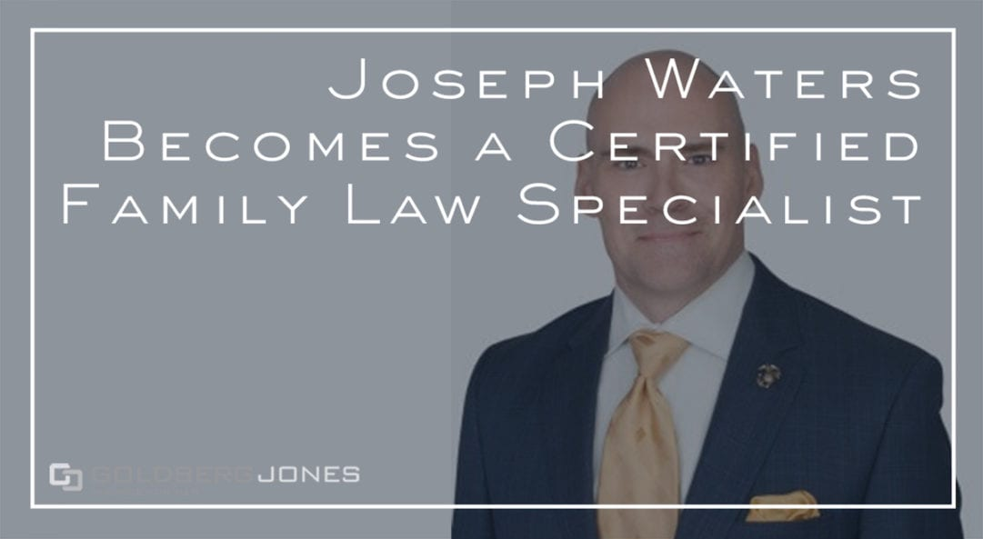 joseph waters certified family law specialist