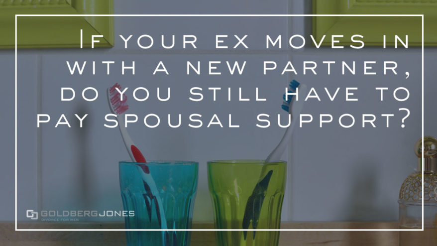 cohabitation and modifying spousal support